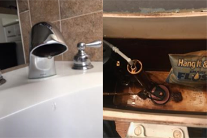 sink faucet toilet drain repair Triangle NC